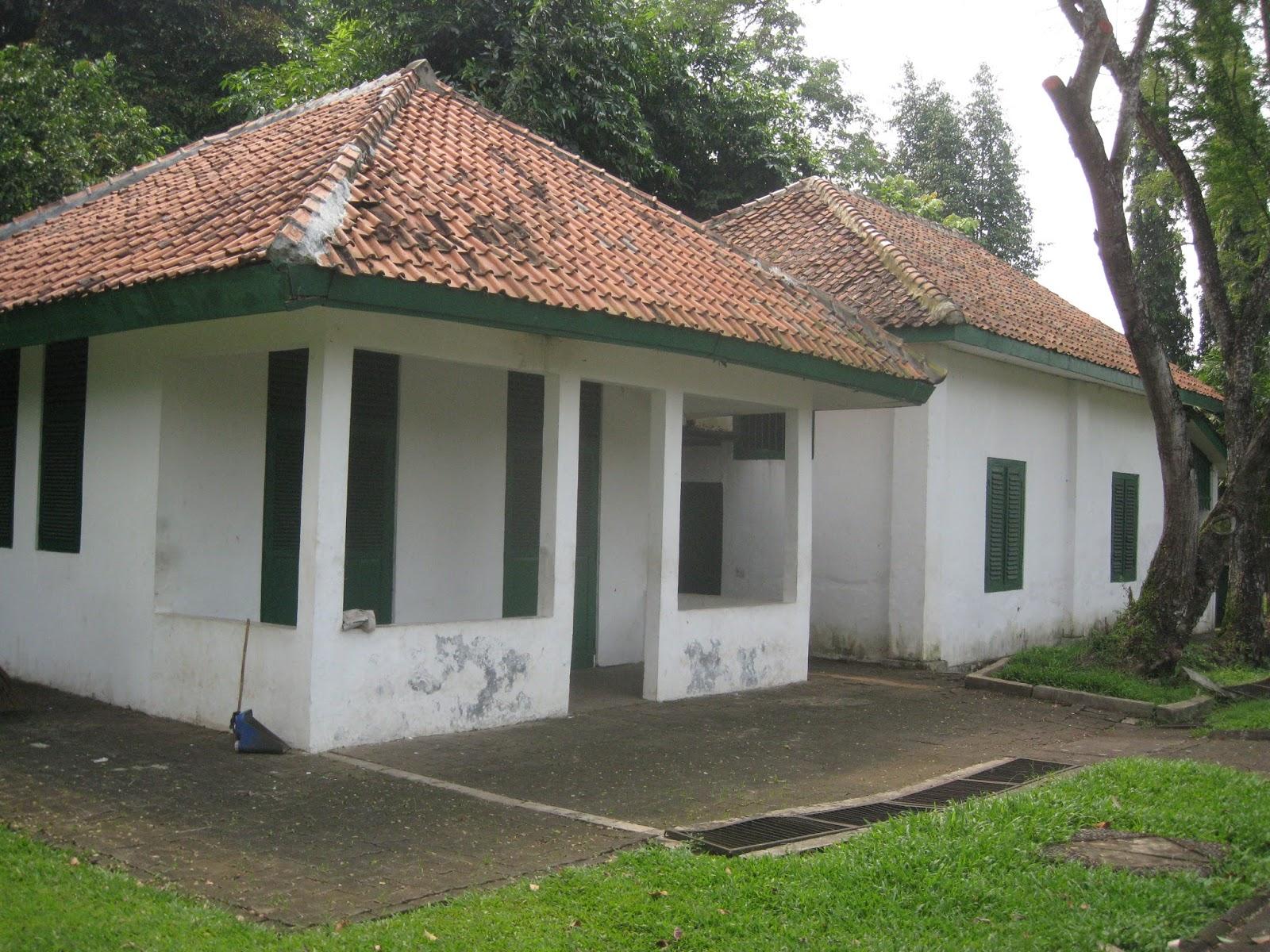 Letsgo2museum Monumen Palagan Lengkong Serpong Peristiwa Bagian Belakang Rumah Musium