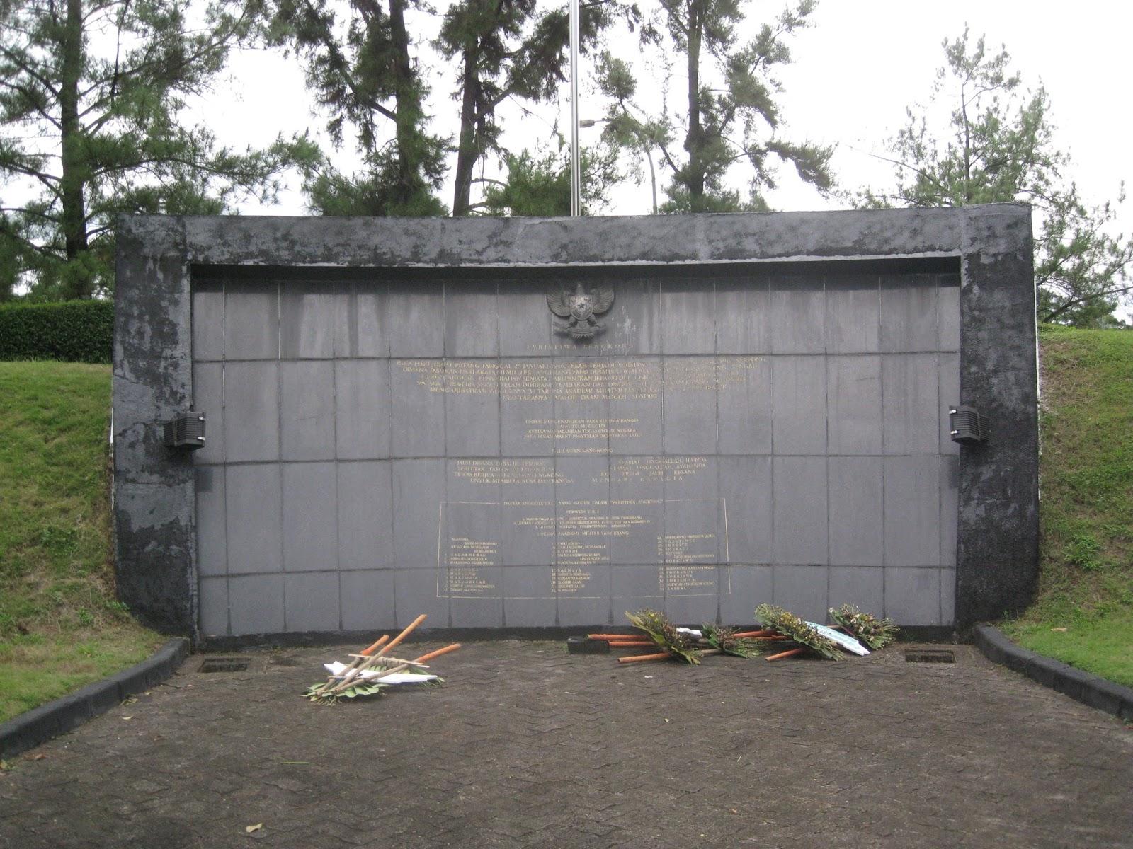 Letsgo2museum Monumen Palagan Lengkong Serpong Peristiwa Sebagian Traveler Mungkin Tidak