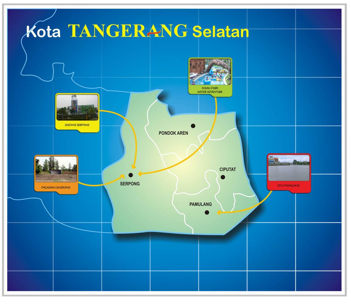 Menghabiskan Waktu Libur Kota Tangerang Wisata Jakarta Menikmati Liburan Selatan