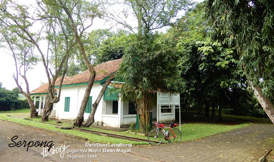 Mengunjungi Rumah Bersejarah Serpong Lengkong Lokasi Sepi Kanan Kiri Tidak