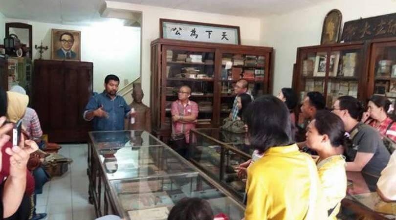 Museum Pustaka Peranakan Tionghoa Keberagaman Kbr Musium Lengkong Kota Tangerang
