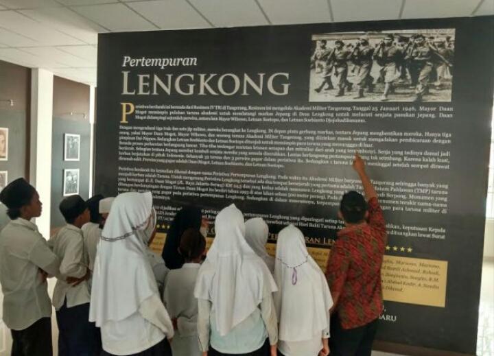 Sejarah Pertempuran Lengkong Museum Juang Taruna Palapa News Banner 160x600