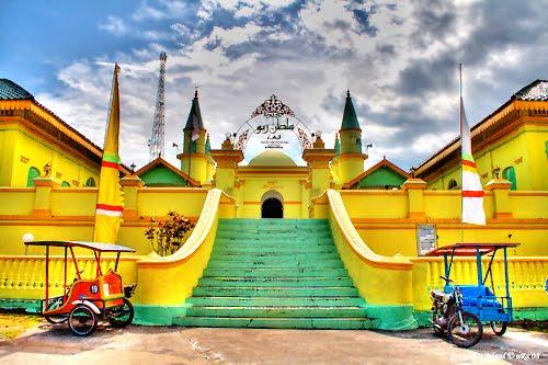 218 Obyek Wisata Kepulauan Tanjung Pinang Alam Pulau Penyengat Sebutan