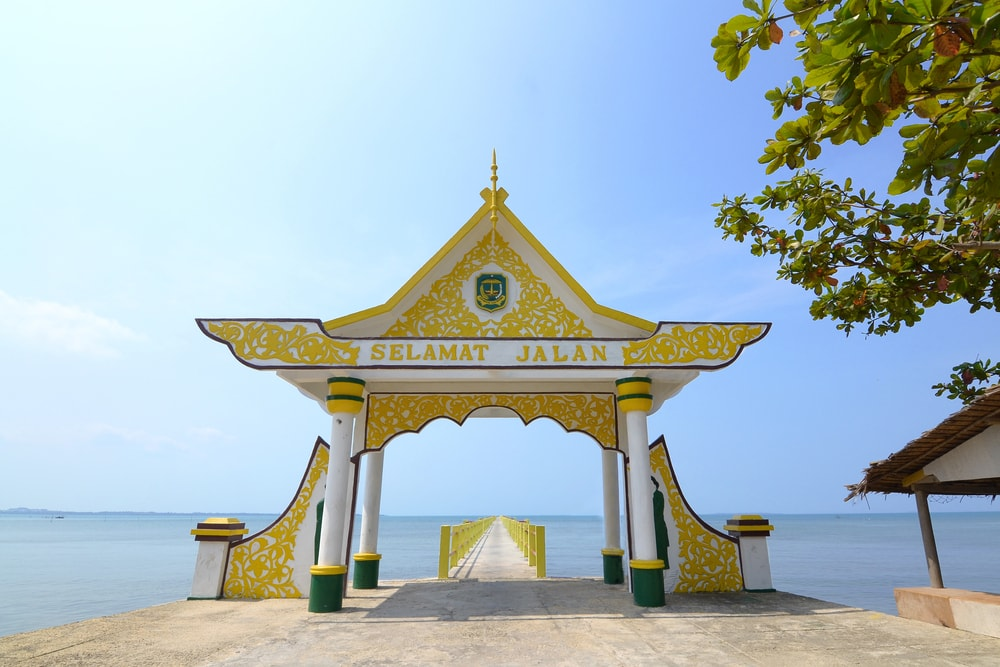 Jadi Trending Topic Yuk Intip Pesona Pulau Penyengat Kepulauan Riau