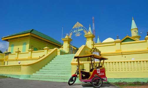 Kampoeng Bintan Pulau Penyengat Abad 18 Raja Haji Membangun Sebuah