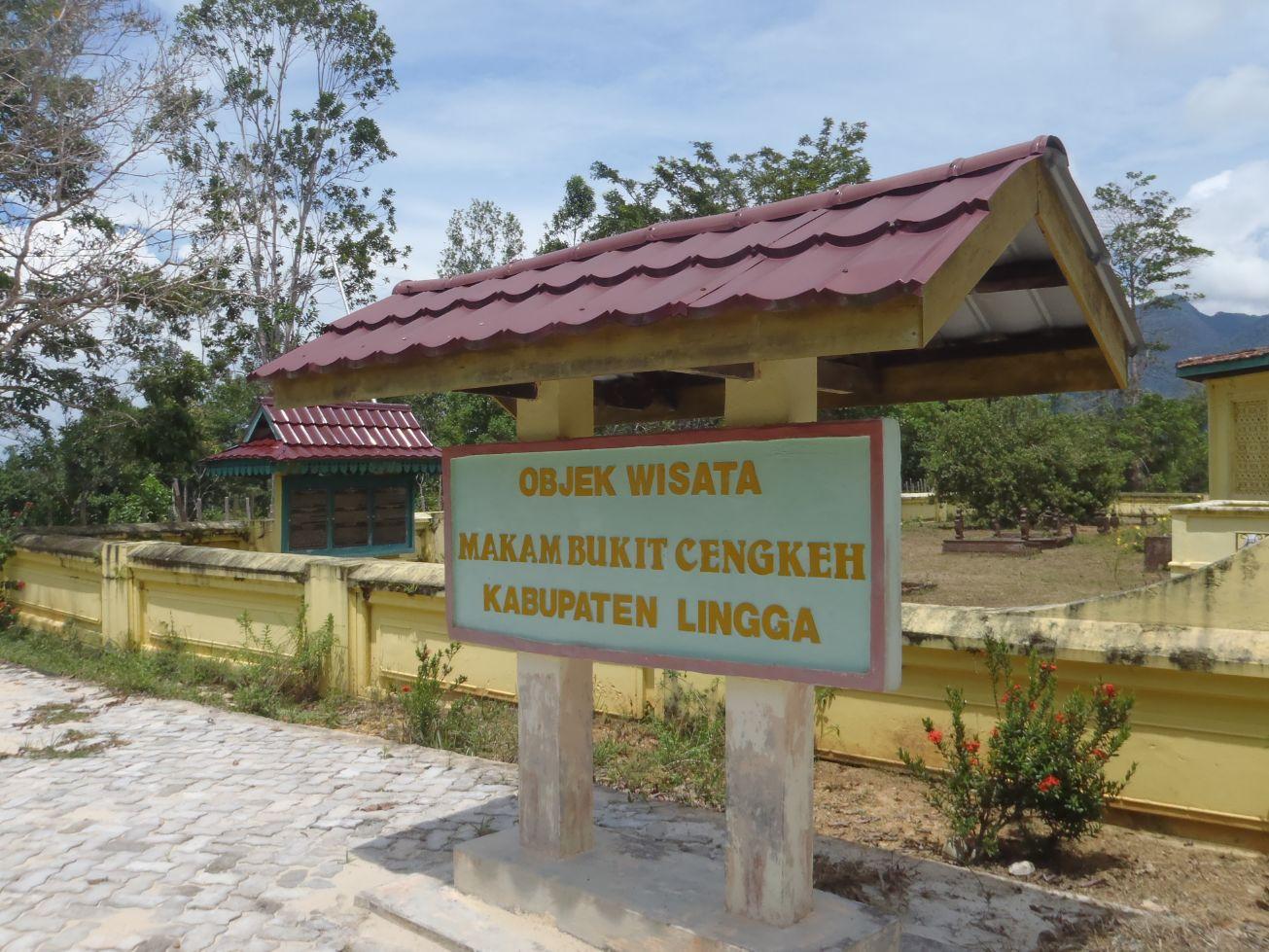 Khalid Bukit Cengkeh Mausoleum Clove Hill Daik Complex Tombs Kings