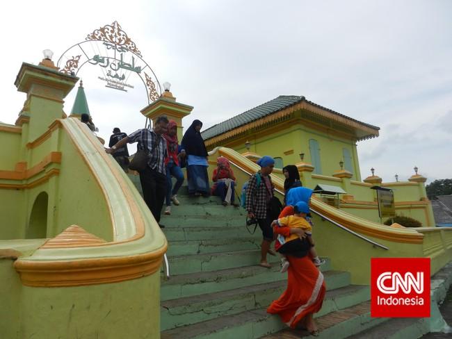 Kumandang Syair Gurindam 12 Pulau Penyengat Disebut Indrasakti Terdapat Masjid