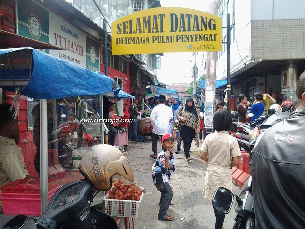 Pulau Penyengat Kawasan Cagar Budaya Tanjung Pinang Selamat Datang Bukit