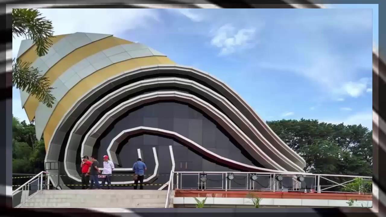 Destinasi Tempat Nongkrong Wisata Keberadaan Gedung Gonggong Kawasan Tepi Laut
