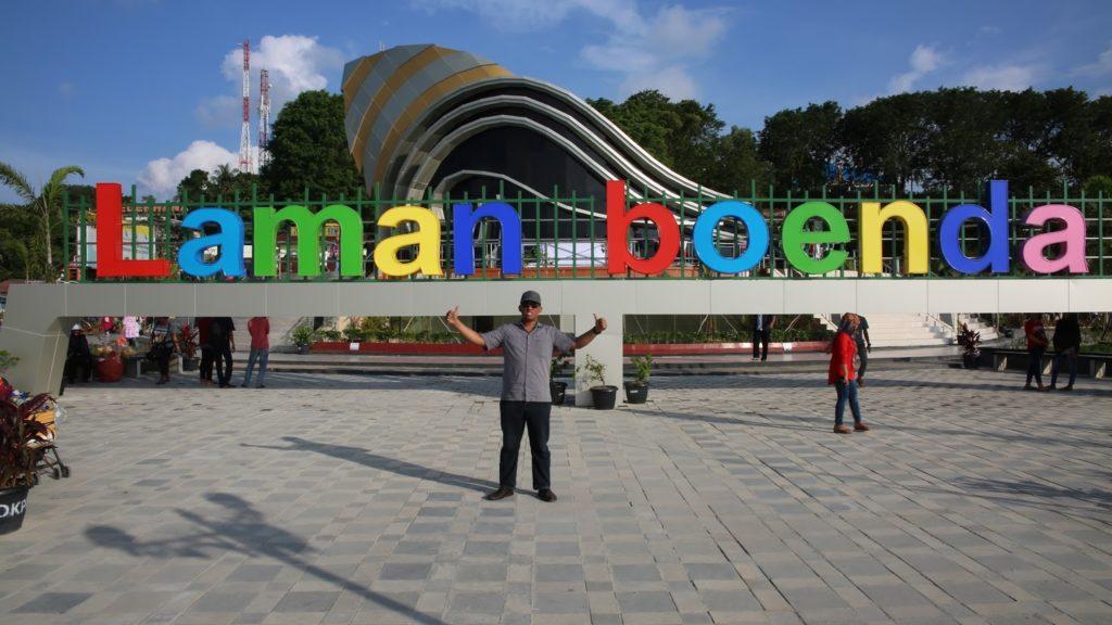 Gedung Gong Laman Boenda Tanjungpinang Wisataloka Gonggong Kota