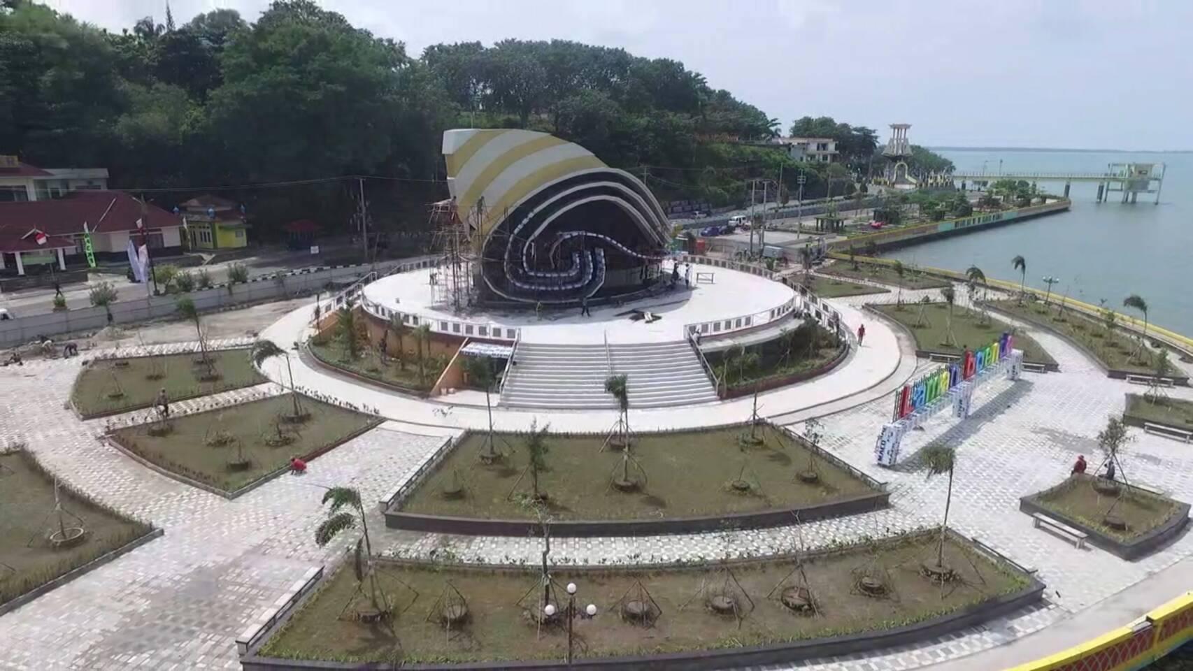 Gedung Gonggong Tanjung Pinang Analisa Desain Ikon Kotaku Oleh Panglime