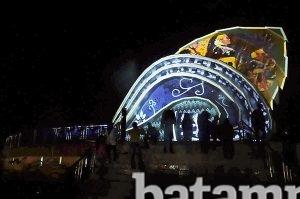 Gedung Gonggong Terapkan Teknologi Video Mapping Batampos Id Salah Satu