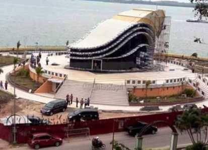 Pemko Tanjungpinang Kebut Siapkan Gedung Gonggong Sebelum Fbk Ikon Terletak