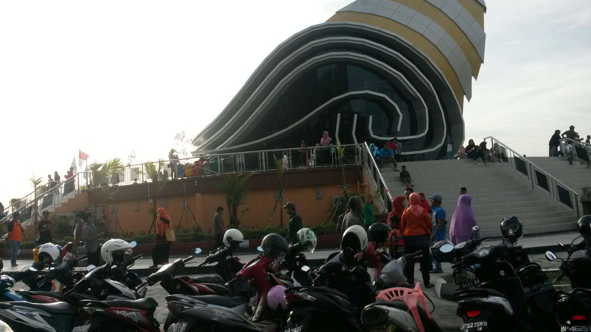 Potret Gedung Gonggong Laman Boenda Tanjungpinang Puputyuhara Nantinya Dijadikan Sebagai