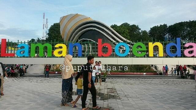 Potret Gedung Gonggong Laman Boenda Tanjungpinang Puputyuhara Tersebut Sebagai Ikon