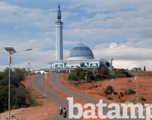 Bangun Kawasan Islamic Centre Terpadu Batampos Id Masjid Raya Nur