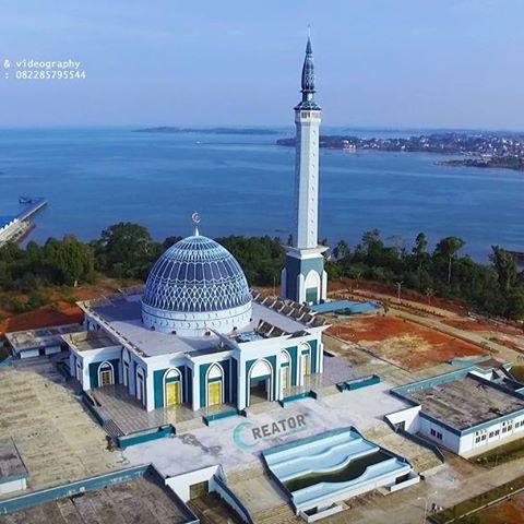 Creator Studio Instagram Photos Videos Masjid Raya Kepri Daerah Aerial