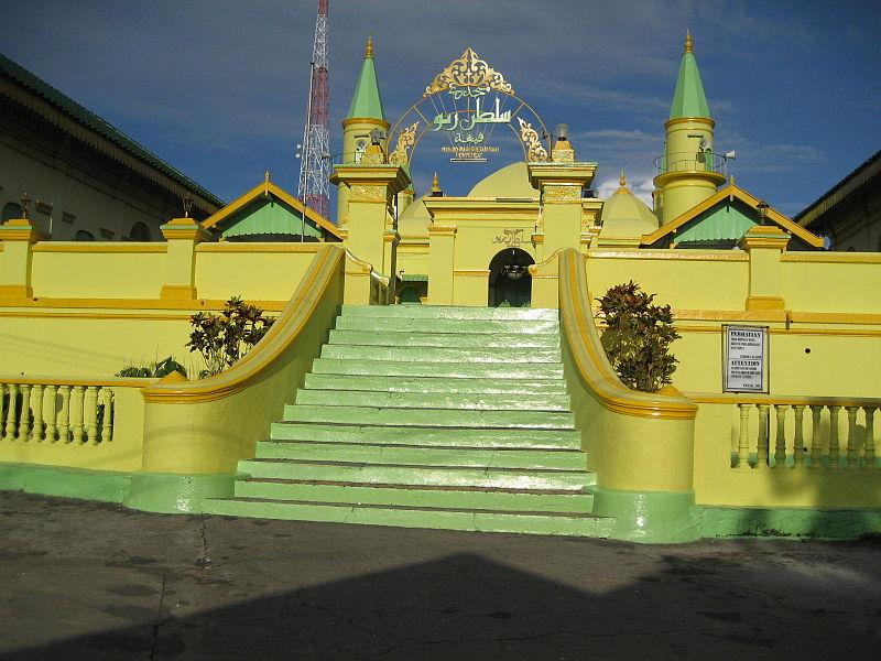 Grand Mosque Sultan Riau Wikipedia Masjid Raya Dompak Kota Tanjungpinang