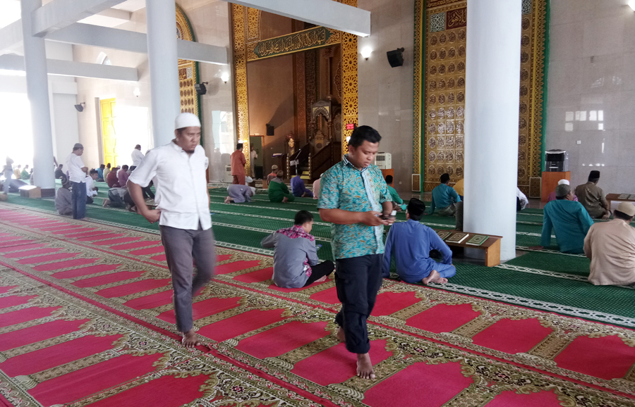 Gubernur Nurdin Bangga Anak Muda Kepri Masjid Suarasiberdotcom Raya Dompak