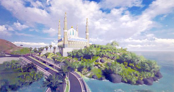 Jalan Masjid Agung Memadai Tanjungpinang Pos Desain Bentuk Raya Dompak