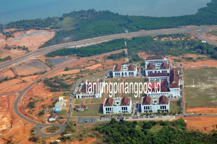 Konsep Pembangunan Dompak Tanjungpinang Pos Masjid Raya Kota