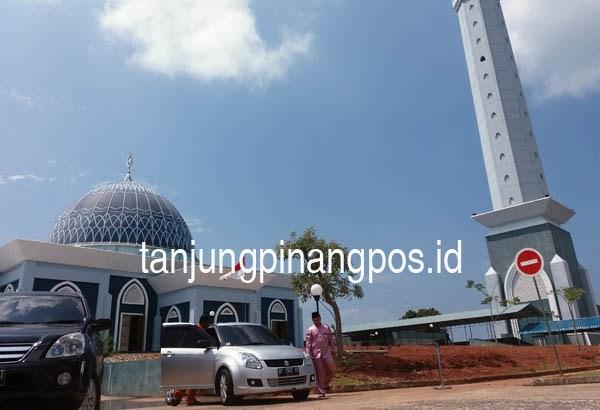 Lift Menara Masjid Dompak Siap Dioperasikan Tanjungpinang Pos Raya Kota
