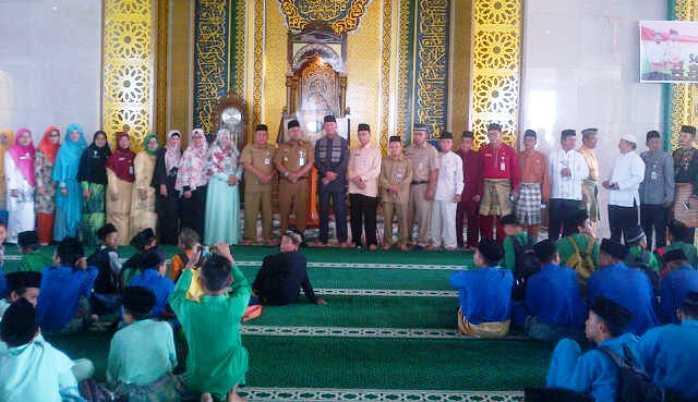 Lis Buka Pesantren Ramadan Se Tanjungpinang Masjid Raya Dompak Syahrul