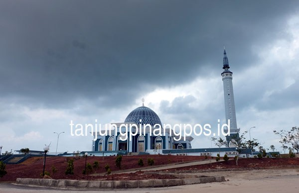 Masjid Dompak Jadi Islamic Centre Tanjungpinang Pos Raya Kota