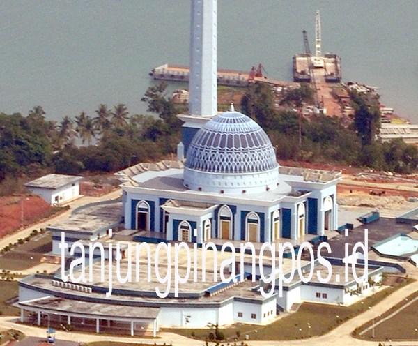 Masjid Raya Tak Terawat Tanjungpinang Pos Dompak Kota