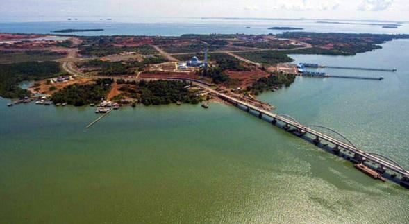 Pulau Dompak Tanjungpinang Info Salah Satu Wisata Religi Tanjung Pinang