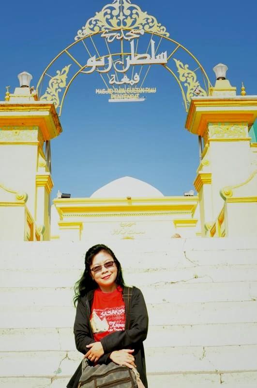 Ai Riana Ks Tanjung Pinang Kota Gurindam Masjid Raya Sultan