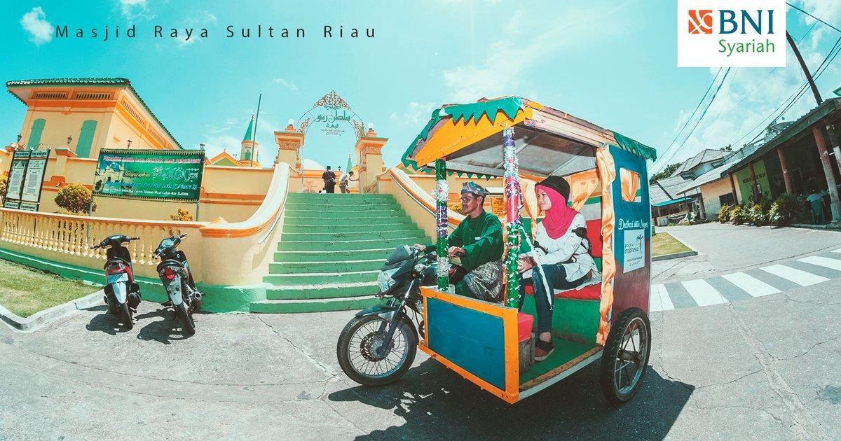Bni Syariah Twitter Masjid Raya Sultan Riau Disebut Salah Satu