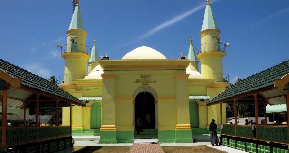 Kisah Sejarah Masjid Sultan Riau Pelopor Bangunan Berkubah Indonesia Raya