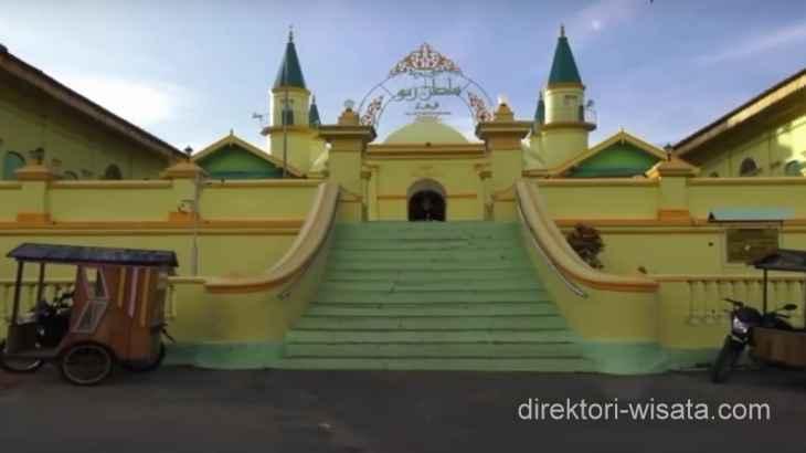 Masjid Raya Sultan Riau Direktori Wisata Indonesia Kota Tanjungpinang