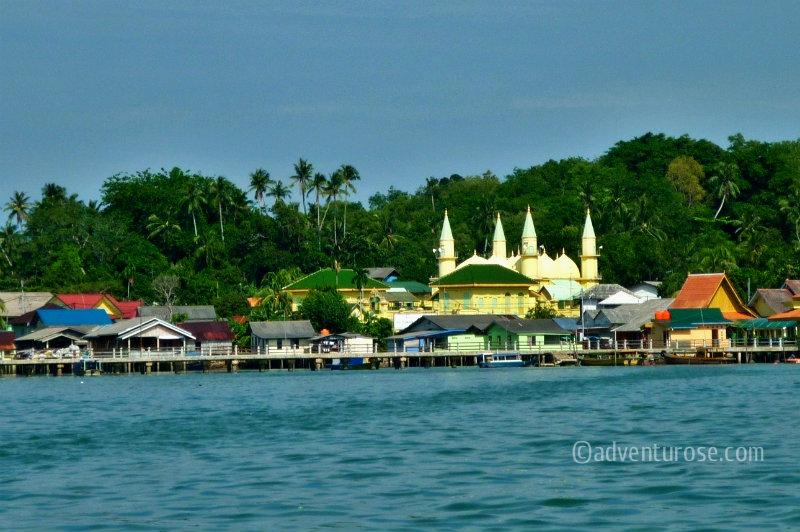 Masjid Raya Sultan Riau Kota Tanjungpinang Kepulauan Lebih Dikenal Sebutan