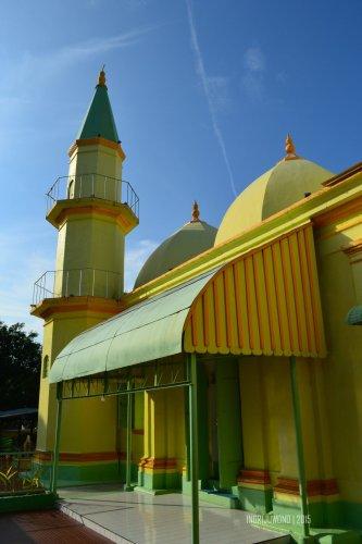 Masjid Raya Sultan Riau Kota Tanjungpinang Kepulauan Pesona Salah Satu
