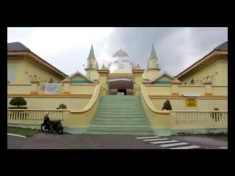 Masjid Raya Sultan Riau Peninggalan Kesultanan Lingga Kota Tanjungpinang
