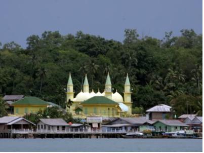 Masjid Raya Sultan Riau Penyengat Kontraktor Kubah Cv Terletak Pulau