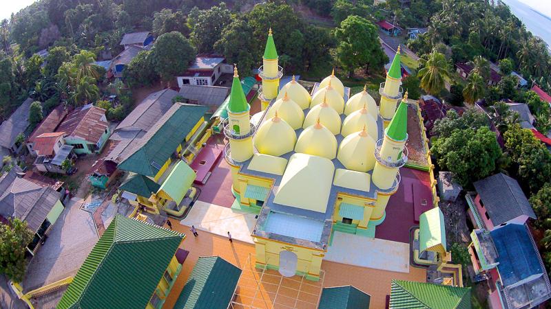 Masjid Sultan Riau Wisata Sejarah Pulau Penyengat Pesona Terdapat Berbagai