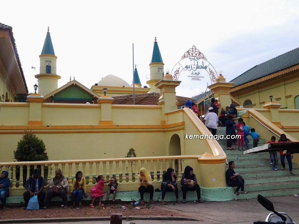 Pulau Penyengat Kawasan Cagar Budaya Tanjung Pinang Masjid Raya Sultan