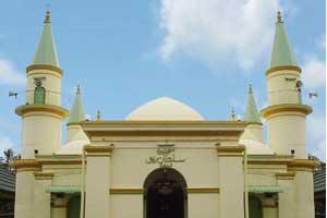 Pulau Penyengat Tanjung Pinang Utiket Masjid Raya Sultan Riau Kota