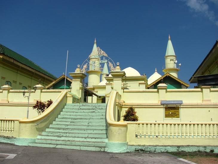 Sultan Riau Mosque Tantular 3 Masjid Raya Kota Tanjungpinang