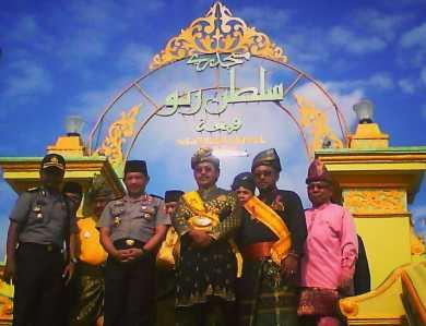 Tiba Pulau Penyengat Kapolri Singgah Masjid Raya Sultan Riau Jenderal
