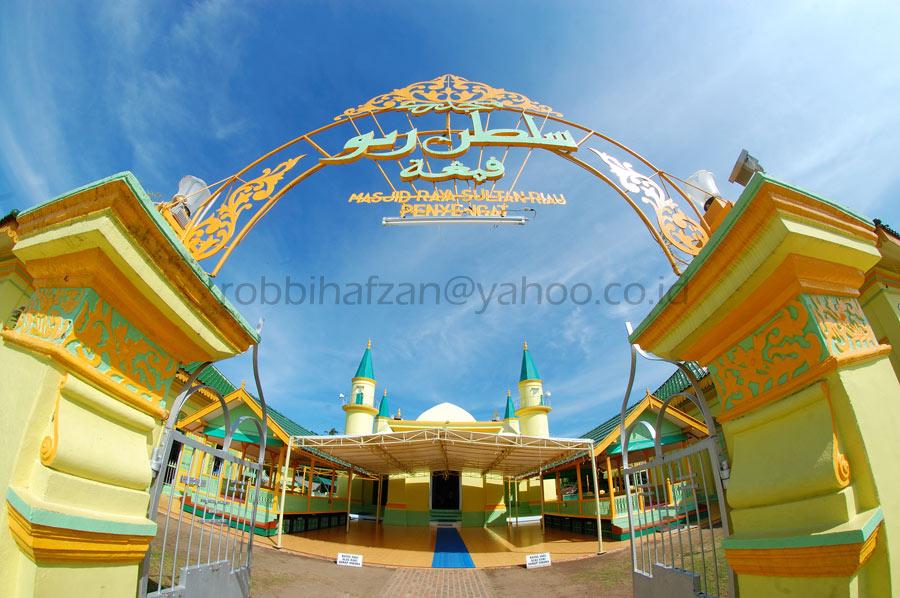 Wandye Sejarah Mesjid Raya Penyengat Masjid Sultan Riau Disebut Salah
