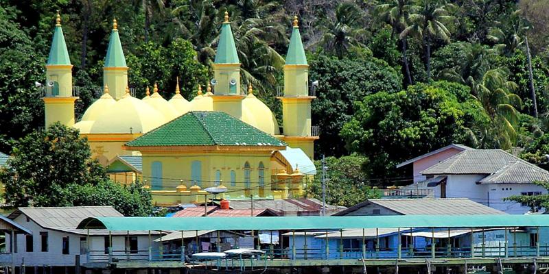 Wisata Religi Tanjung Pinang Rental Mobil Kota Masjid Raya Sultan