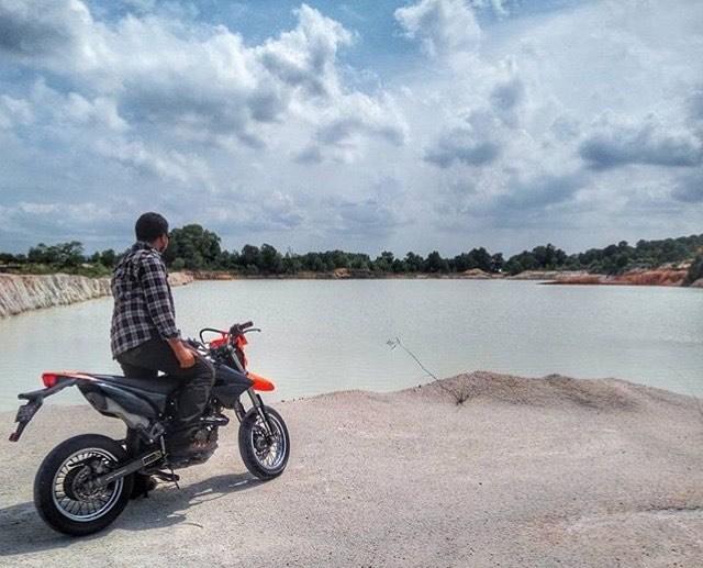 10 Tempat Wisata Tanjungpinang Kota Gurindam Danau Biru Bintan Instagram