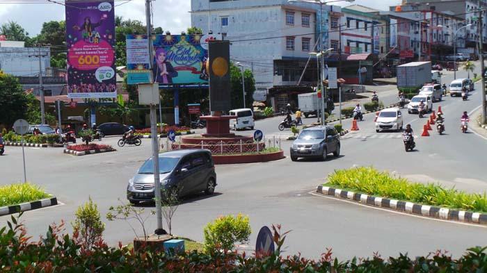 Pemko Tanjungpinang Tata Ulang Tiga Persimpangan Jalan Tribun Batu Taman