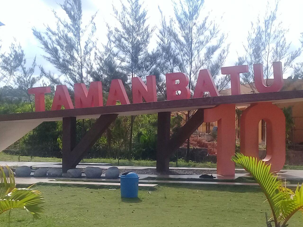 Pengunjung Mengeluh Taman Batu 10 Bintan Centre Tidak Memiliki Tanjungpinang