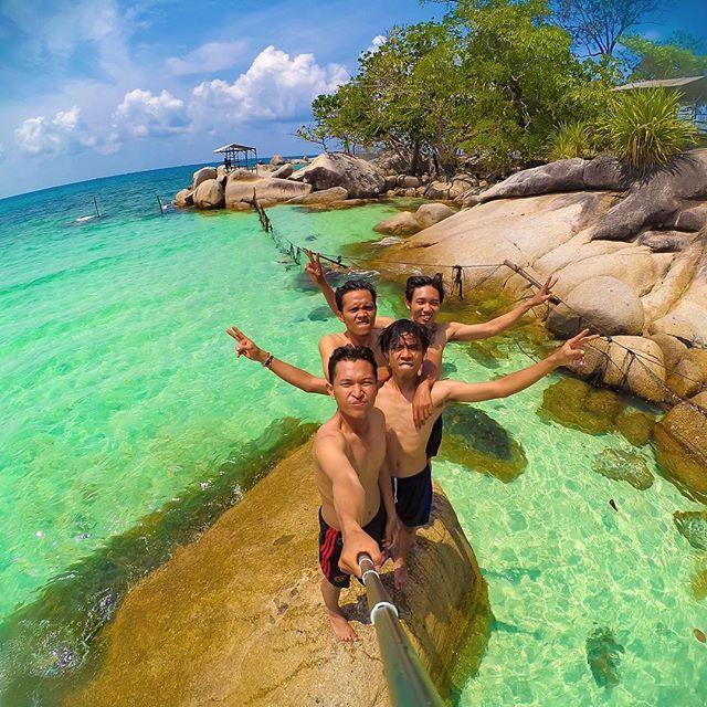 10 Tempat Wisata Tanjungpinang Kota Gurindam Pantai Trikora Instagram Taman