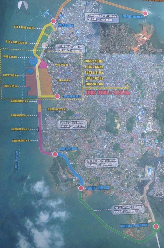 Nilai Proyek Gurindam 12 Capai Setengah Triliun Harian Kepri Peta